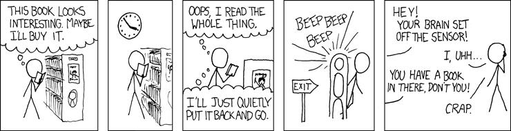 xkcd: Bookstore