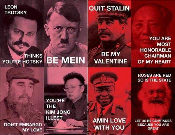 Dictator Valentines