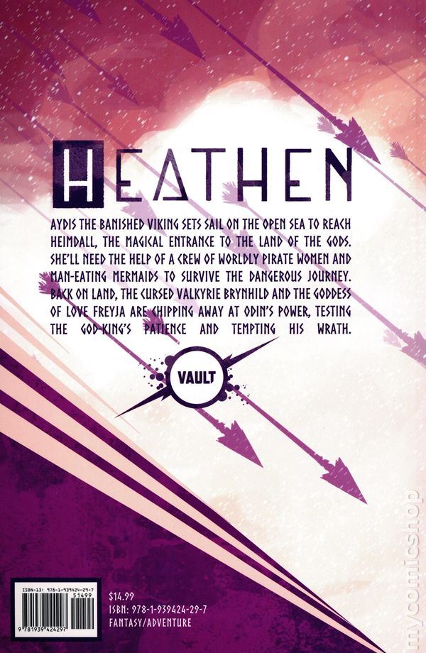 Heathen Volume 2 Back Cover