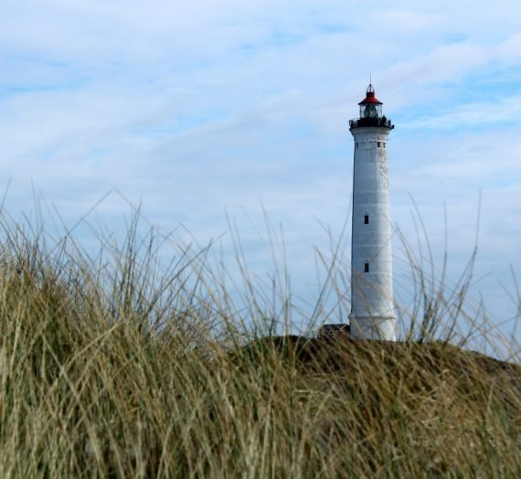 Dänische Leuchttürme: der Lyngvig Fyr