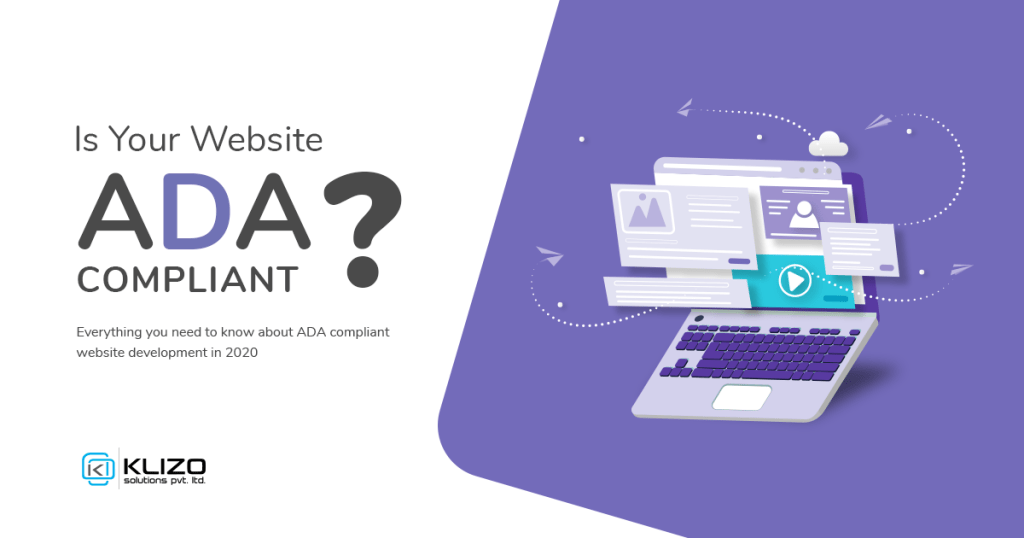 ADA Compliant website development guide banner