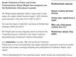 Screenshot of Shaun Wright article