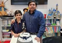 13th birthday celebrations of Cllr Asim Rasheed son
