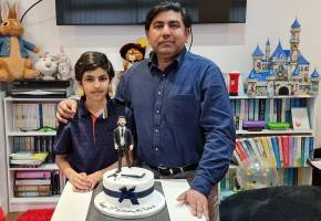13th birthday celebrations of Cllr Asim Rasheed son