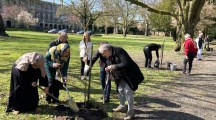 Afzal Khan MP in tree plantation ceremony in memory of Covid-19 victims (3)