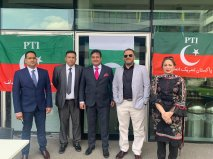 PTI UK office inauguration ceremony in Manchester (3)