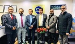 PTI UK officials with President Abdul Sattar Rana and Secretary General Aslam Bhutta (1)
