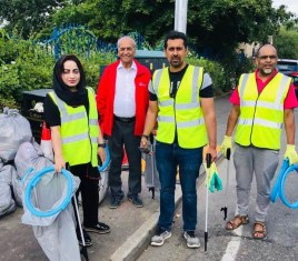 GREENER AND CLEANER BURNLEY CAMPAIGN IN DANESHOUSE WITH STONEYHOLME