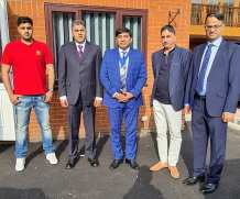 Honour to Welcome Lord Mayor of Leeds City Council Cllr Asghar Khan