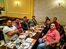 mian waheed ur rehman Dinner with PTI colleagues in celebrations of AJK election