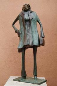 dame 58x32x19 cm 2000 bronze