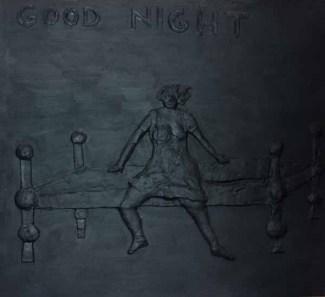 Dood night 150x150 cm