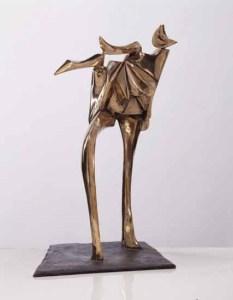 in bewegung 1989 bronzo