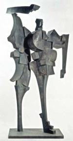 Poet 240x150x120 cm 1989 bronze
