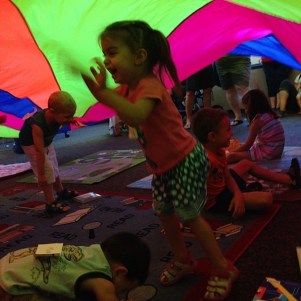 parachute storytime