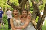 Juniors Eleanor Cavey and Claudia Ely. Photo Credit / Jordan Brown
