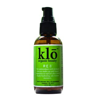 Klo Organic Beauty oil cleanser for oily/acne-prone skin