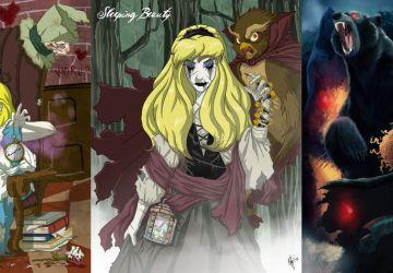 Postavičky z Disney dostali hororovú podobu! Ktorá, vás najviac vystrašila?