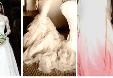 Najkrajšie hviezdne nevesty. Pozrite si tie najkrajšie svadobné šaty
