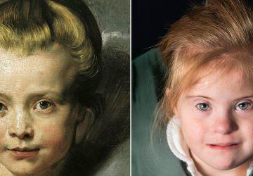 Deti s downovým syndrómom napodobnili slávne obrazy, výsledok je fascinujúci
