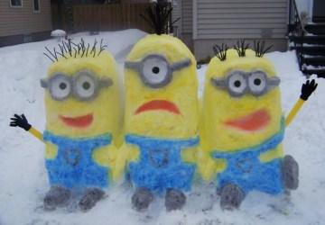 Snehoví umelci ani túto zimu nelenošili. Pozrite sa na ich výtvory