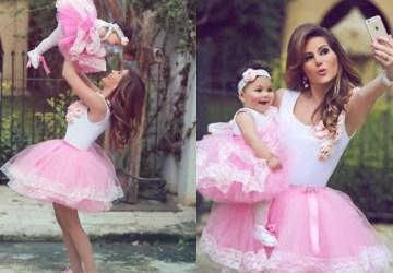 Mamky a dcéry vedia, ako zaujať. Takto nádherne sa zladili!