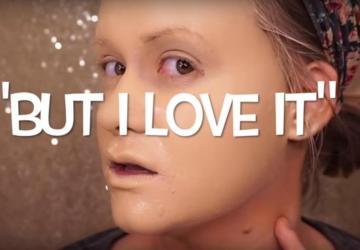 Youtuberka si na tvár naniesla 50 vrstiev make-upu! Ako vyzerala pred a po tomto pokuse?