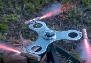 Tento raketovo poháňaný spinner je snom každého vlastníka klasického kúsku. Takto ho zaručene neroztočíte