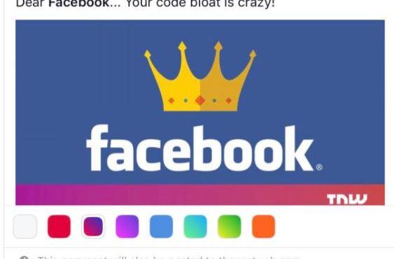 Facebook prináša farebné komentáre. Ďalšia otravná vec?