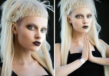 18-ročná kráska z Ruska sa dokáže pomocou make-upu premeniť na rôzne svetové ikony. Ľudia z nej šalejú