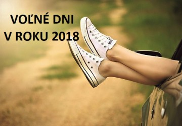 Koľko dní voľna si užijeme v tomto roku? TU je tohtoročný prehľad sviatkov a dní pracovného pokoja