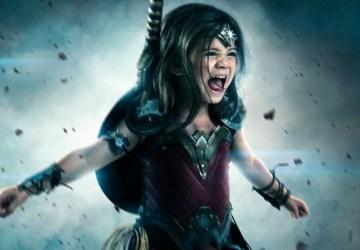 Otec splnil dcére detský sen. Za 1 500 dolárov ju premenil na superhrdinku Wonder Woman