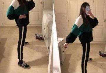 Táto fotka spôsobila na internete šialenstvo. Za všetko môžu nohy mladej slečny, ktoré si ľudia nevedia vysvetliť!