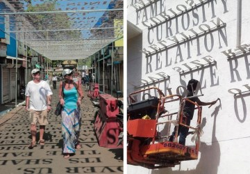 Písmenká na chodníku a na opustených budovách: Umelec vás presvedčí o tom, že táto inštalácia chýba aj vo vašom meste