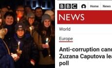 Gratulujeme, bratři Slováci! Jste zase víc na západě než my. Svetové médiá reagujú na víťazstvo Čaputovej v prvom kole