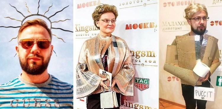 Ruský bloger robí paródie z celebritných fotografií. Celebrity ho za to milujú