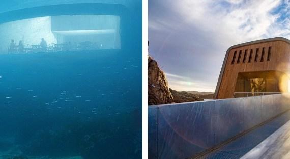 Nóri otvorili prvú podmorskú reštauráciu v Európe, poskytne unikátny pohľad do morského sveta