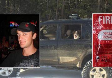 Muž uviazol so svojím psom v aute po dobu piatich dní. Prežili len vďaka omáčke na taco