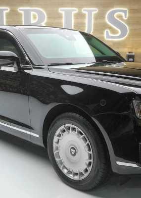 Ruský Rolls Royce? Putinovu luxusnú limuzínu, ktorá vyzerá ako pozliepané modely európskych výrobcov, si môžete kúpiť aj vy