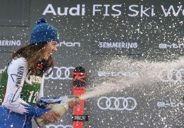 AKTUÁLNE: Petra Vlhová sa umiestnila na 1. mieste v obrovskom slalome v Jasnej