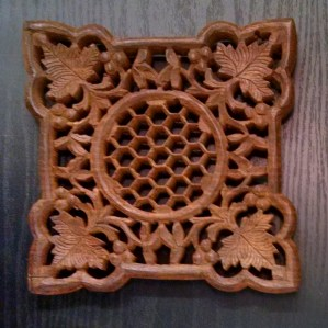 The original trivet that I purchased from an estate sale!