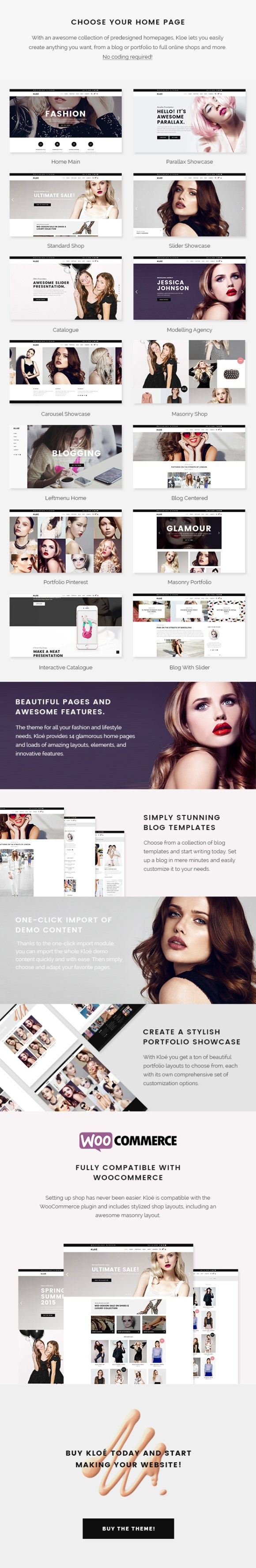 Kloe - Fashion & Lifestyle Multi-Purpose Theme - 1