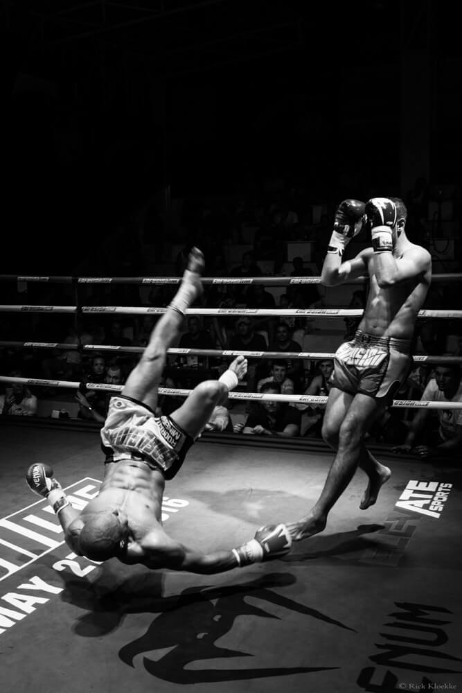 Kickboksfoto's voor Enfusion