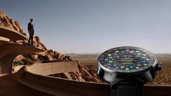 Smartwatch Tambour Horizon de Louis Vuitton.