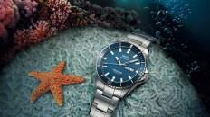 Mido Ocean Star en color azul