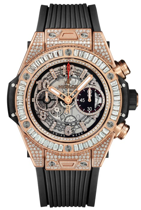 Big Bang Unico King gold Jewlry Floyd Mayweather Hublot