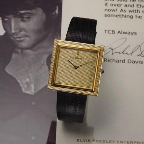 Corum Buckingham, uno de los relojes de Elvis Presley