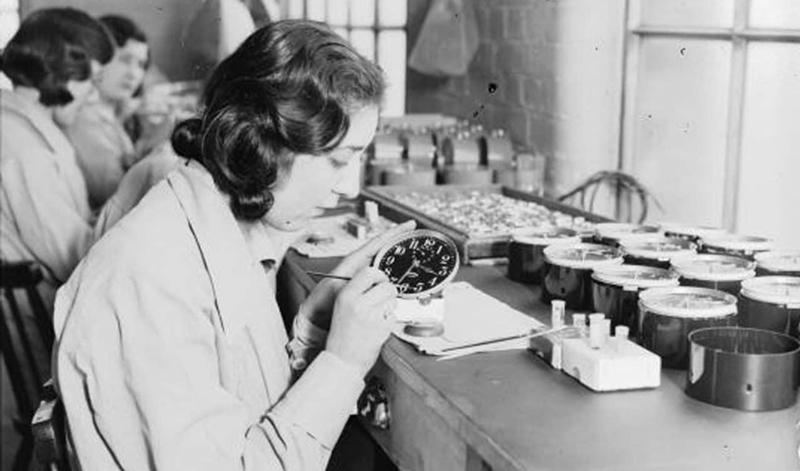 Relojes radiactivos Radium Girls