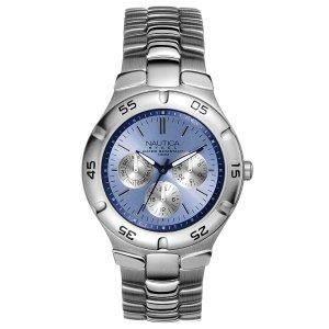 reloj nautica hombre metálico