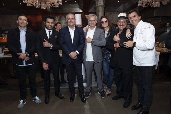 Gennady Golovkin, Rohit Sharma, Ricardo Guadalupe, José Mourinho, Glenn Hughes, Carlito Fuente and Yannick Alléno